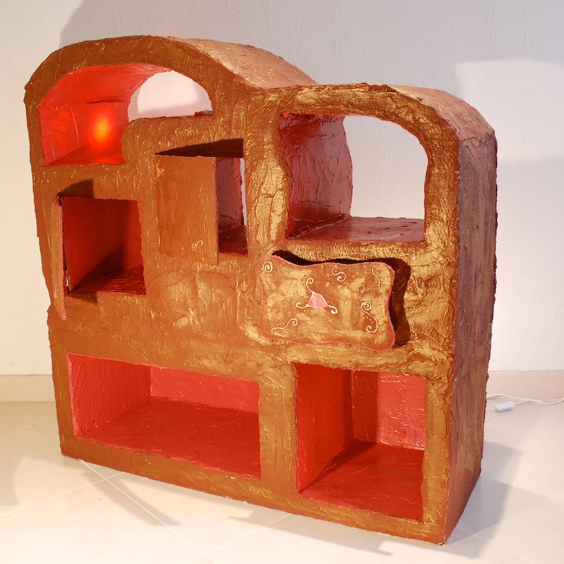 le mobilier en carton. Black Bedroom Furniture Sets. Home Design Ideas